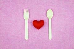украшение романтичное, valentine& x27 St; концепция дня s, взгляд сверху fla Стоковая Фотография RF