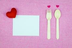 украшение романтичное, valentine& x27 St; концепция дня s, взгляд сверху fla Стоковое Изображение RF