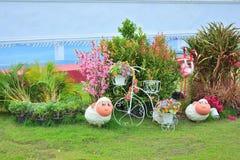 Украшение сада в доме Стоковая Фотография