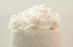 Украшение свадебного пирога Стоковые Изображения RF
