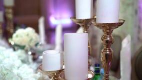 Украшение свечей и цветков акции видеоматериалы