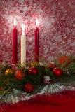 Украшение свечки праздника Стоковые Фото