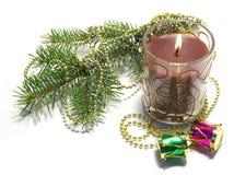 украшение свечки Стоковое Фото