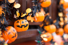Украшение смертной казни через повешение хеллоуина Стоковые Изображения RF