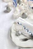 Украшение таблицы рождества Стоковые Изображения