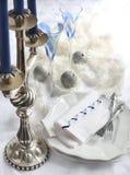 Украшение таблицы рождества Стоковое фото RF