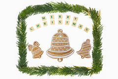 Украшение темы рождества Стоковая Фотография RF