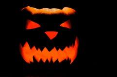 Украшение тыквы на хеллоуин Стоковые Фотографии RF