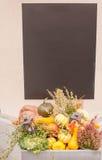 Украшение тыквы Стоковое фото RF
