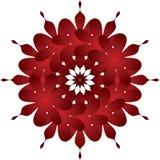 украшение флористическое Стоковое Изображение RF