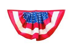 Украшение флага США изолированное на белой предпосылке Стоковая Фотография RF