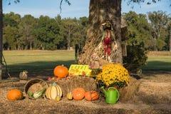 Украшение хеллоуина на сельском Арканзасе, США Стоковое Фото