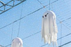 Украшение хеллоуина в парке потехи Стоковое фото RF