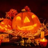 Украшение хеллоуина Стоковые Изображения