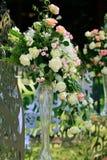Украшение цветка свадьбы Стоковое фото RF