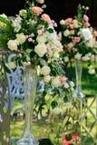 Украшение цветка свадьбы Стоковая Фотография RF