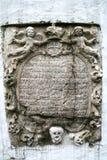 украшение церков старое Стоковое Фото