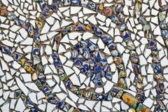 Украшение частей керамической плитки стоковая фотография rf