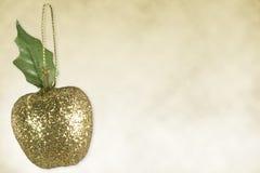 украшение яблока стоковое изображение rf