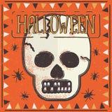 украшение halloween иллюстрация вектора