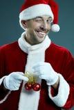 украшение santa рождества стоковые изображения rf