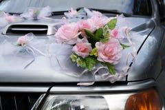 украшения автомобиля wedding Стоковая Фотография RF