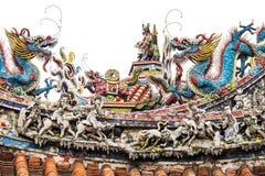 Украшения виска Тайваня Стоковые Изображения RF