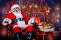 Украшения для рождества в интерьере стоковое изображение