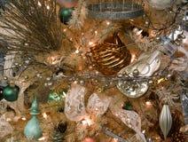 Украшения дерева праздника рождества Стоковое Изображение