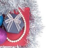 Украшения и подарки рождества Стоковое Фото