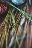 Украшения от овощей и плодоовощей во время торжества oktoberfest Стоковые Фото