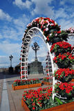 Украшения пасхи в Москве Стоковая Фотография RF