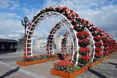 Украшения пасхи в Москве Стоковые Изображения RF
