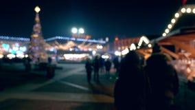 Украшения праздника в городской площади акции видеоматериалы