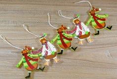 Украшения праздника для рождественской елки стоковые фотографии rf