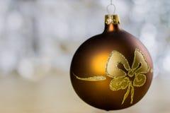 Украшения рождества для рождества Орнаменты рождества сделанные  Стоковое Изображение RF