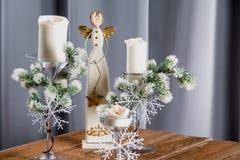 Украшения рождества, дом отдыха связали концепция Стоковая Фотография