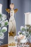 Украшения рождества, дом отдыха связали концепция Стоковое фото RF