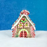 Украшения рождества - сладостный дом Стоковая Фотография