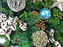 Украшения рождества тематические, богатый цвет Стоковая Фотография RF