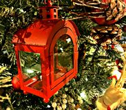 Украшения рождества тематические, богатый цвет Стоковые Изображения