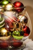 украшения рождества шара Стоковые Фото
