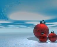 украшения рождества иллюстрация штока