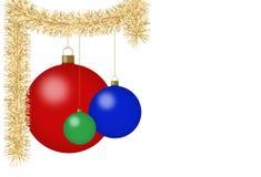 украшения рождества Бесплатная Иллюстрация