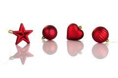 украшения рождества Стоковые Изображения RF