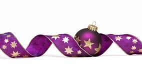 Украшения рождественской елки Стоковое Изображение