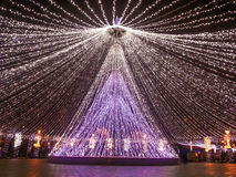Украшения рождества, Бухарест Стоковые Изображения RF