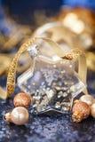 Украшения рождества на sequins Стоковые Изображения RF