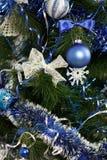 украшения рождества предпосылки изолировали белизну вала Стоковое Изображение