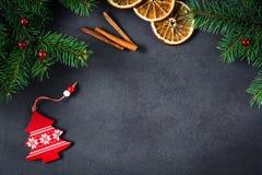 украшения рождества предпосылки Стоковые Изображения RF